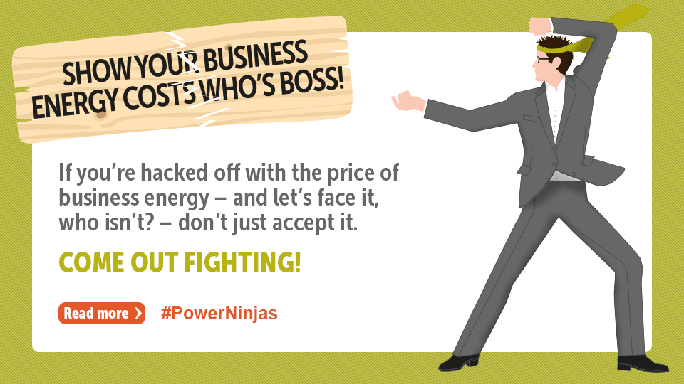 Show your business energy costs who's boss!