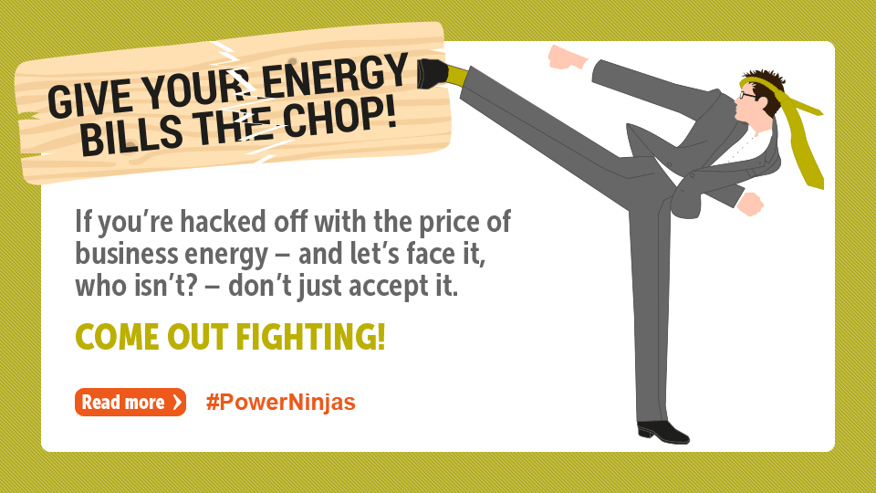 Give the energy bills the chop!